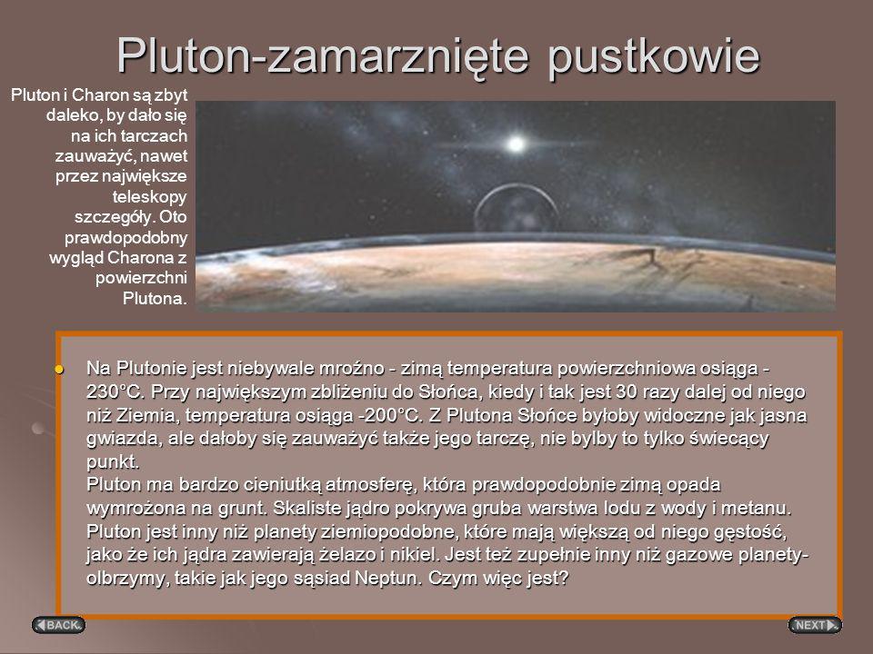 Pluton-zamarznięte pustkowie