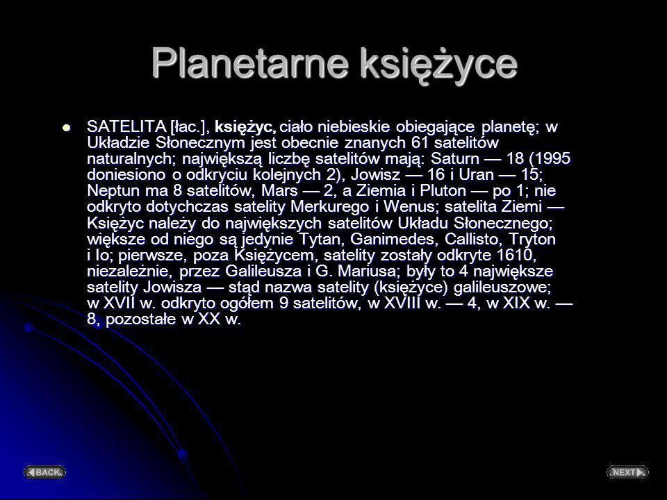 Planetarne księżyce