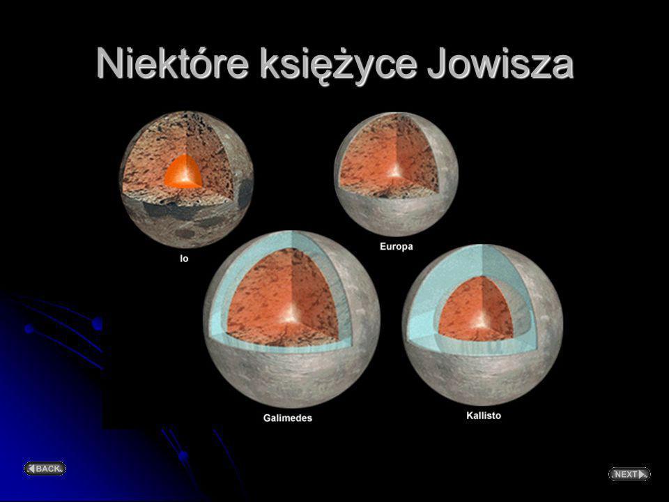 Niektóre księżyce Jowisza