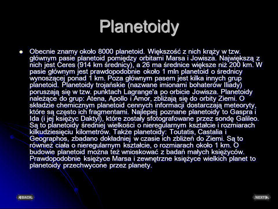 Planetoidy