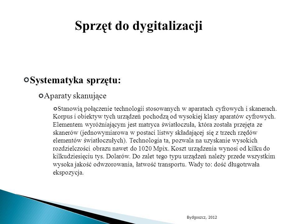 Sprzęt do dygitalizacji