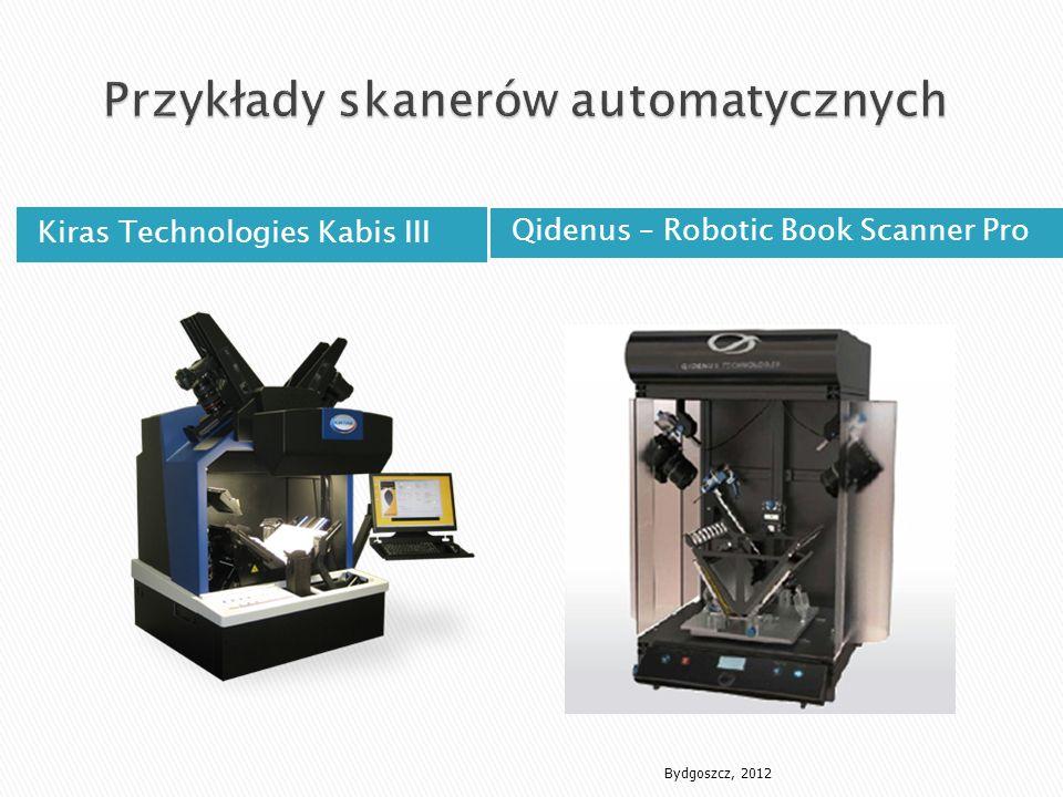 Przykłady skanerów automatycznych