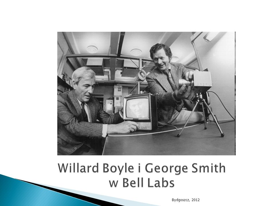 Willard Boyle i George Smith w Bell Labs