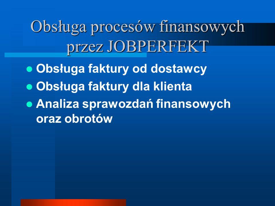 Obsługa procesów finansowych przez JOBPERFEKT
