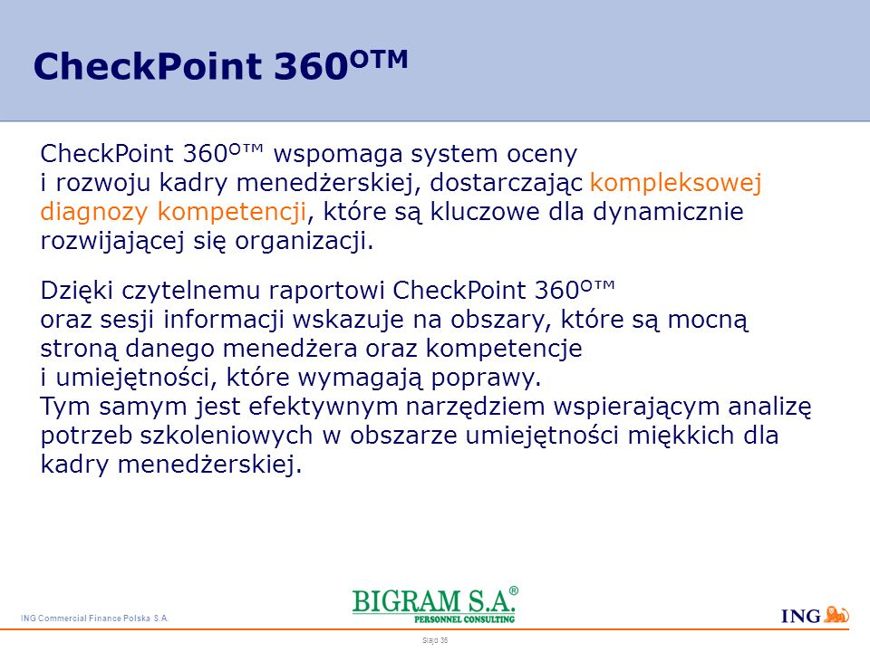 CheckPoint 360OTM