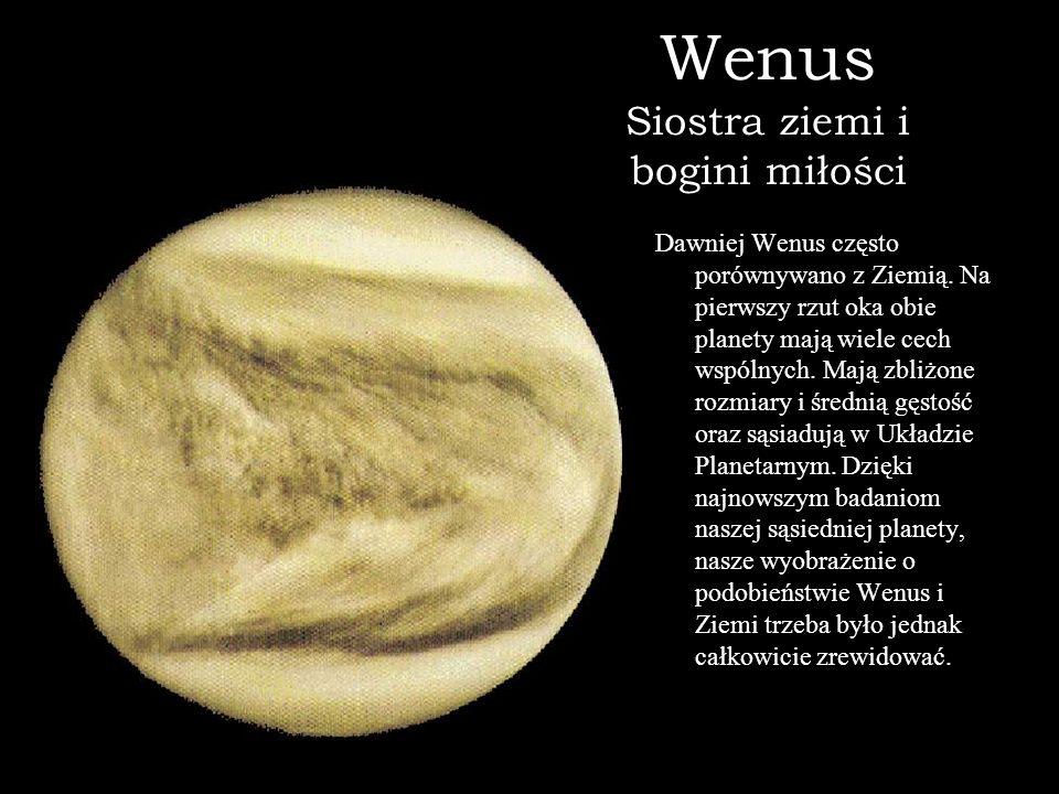 Wenus Siostra ziemi i bogini miłości