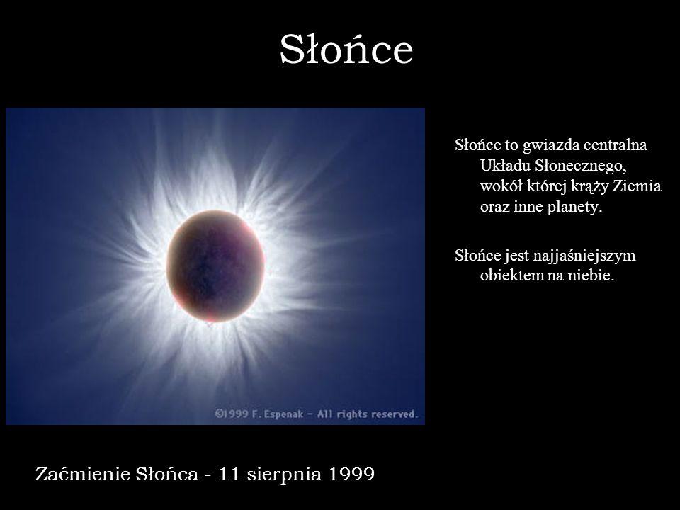 Słońce Zaćmienie Słońca - 11 sierpnia 1999