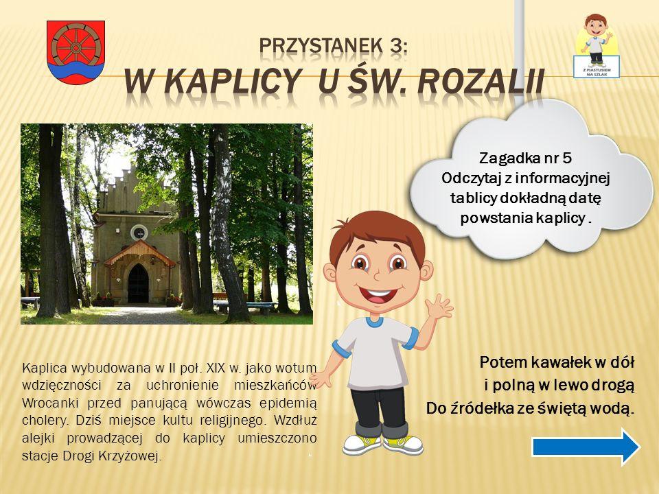 Przystanek 3: w Kaplicy u Św. Rozalii