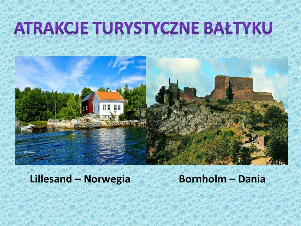 Atrakcje turystyczne Bałtyku