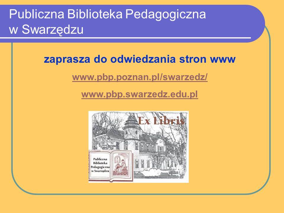 Publiczna Biblioteka Pedagogiczna w Swarzędzu