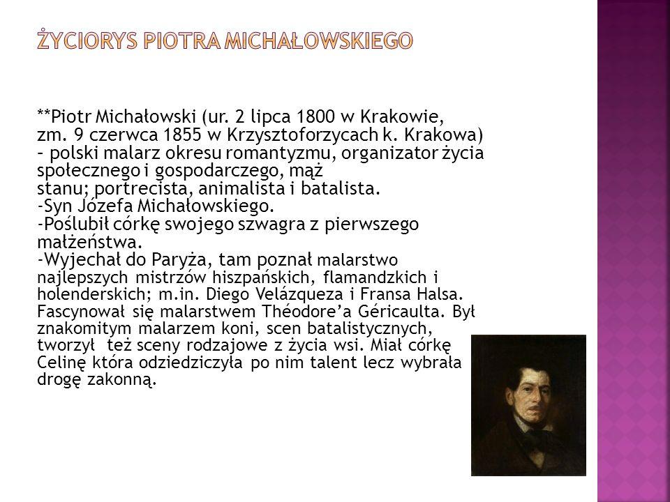 Życiorys Piotra Michałowskiego