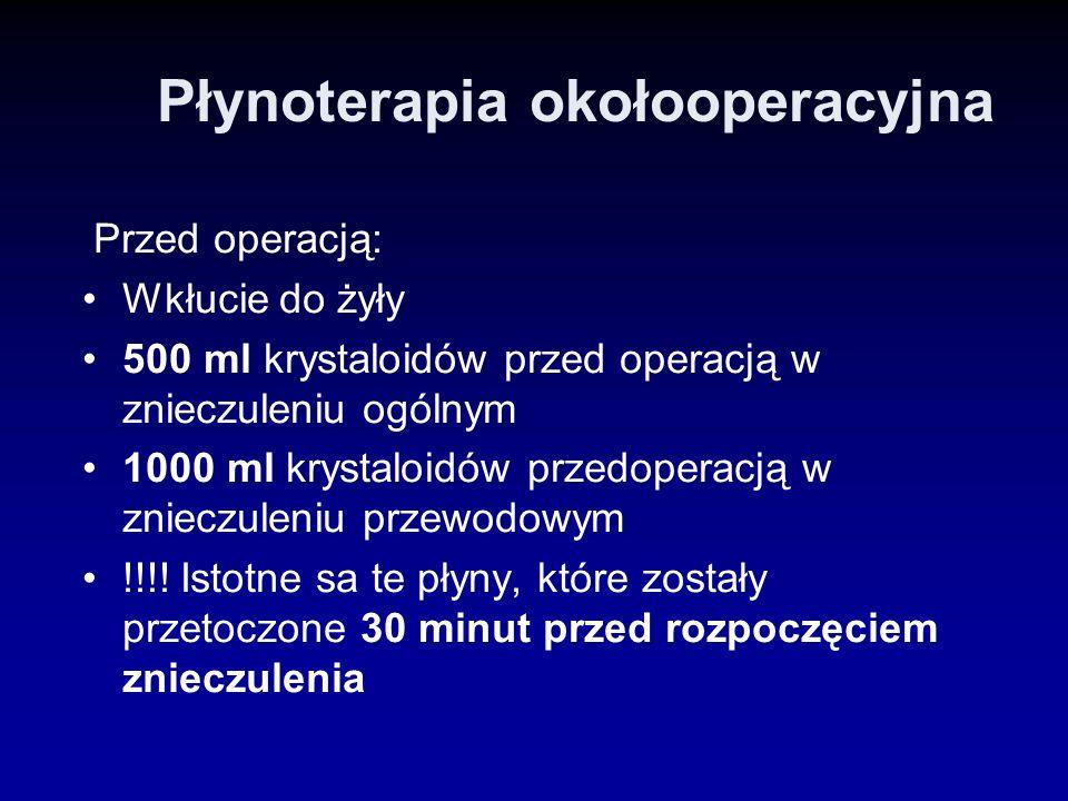 Płynoterapia okołooperacyjna