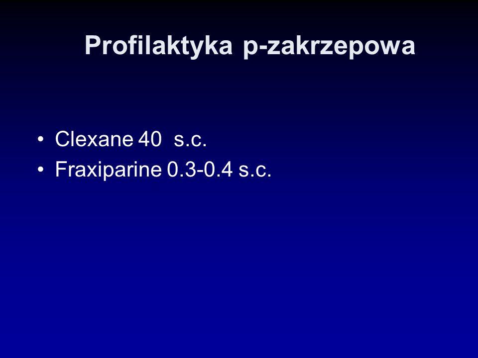 Profilaktyka p-zakrzepowa