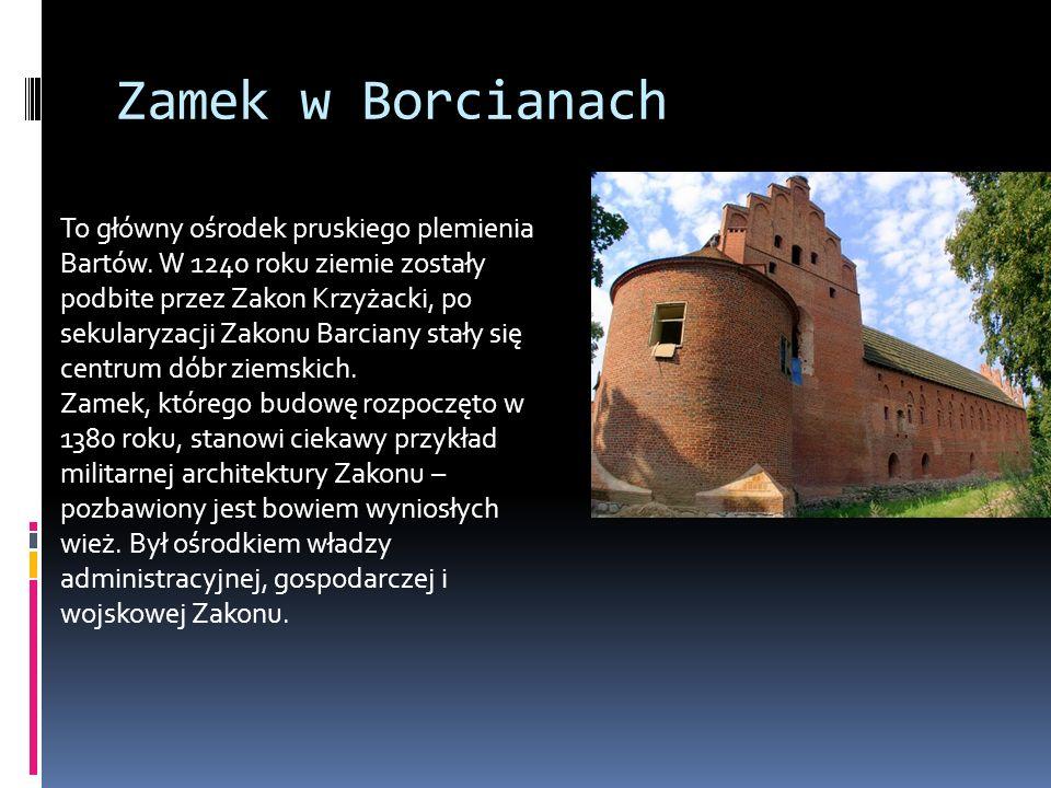 Zamek w Borcianach