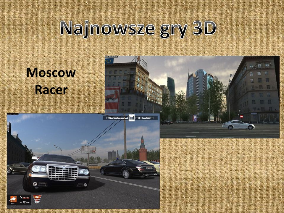 Najnowsze gry 3D Moscow Racer