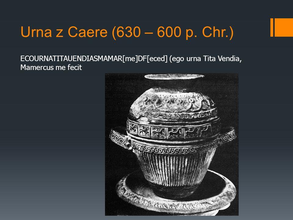Urna z Caere (630 – 600 p.