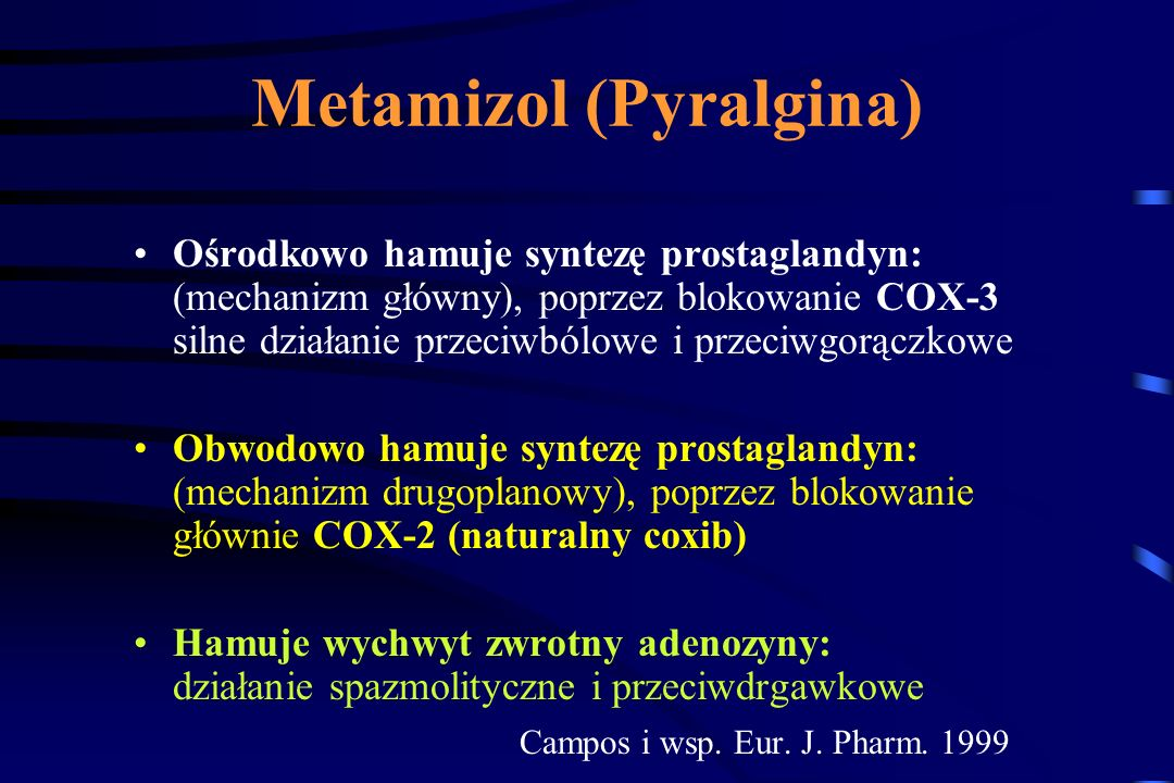 Metamizol (Pyralgina)