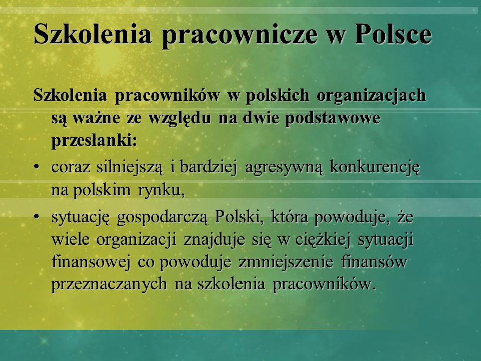 Szkolenia pracownicze w Polsce