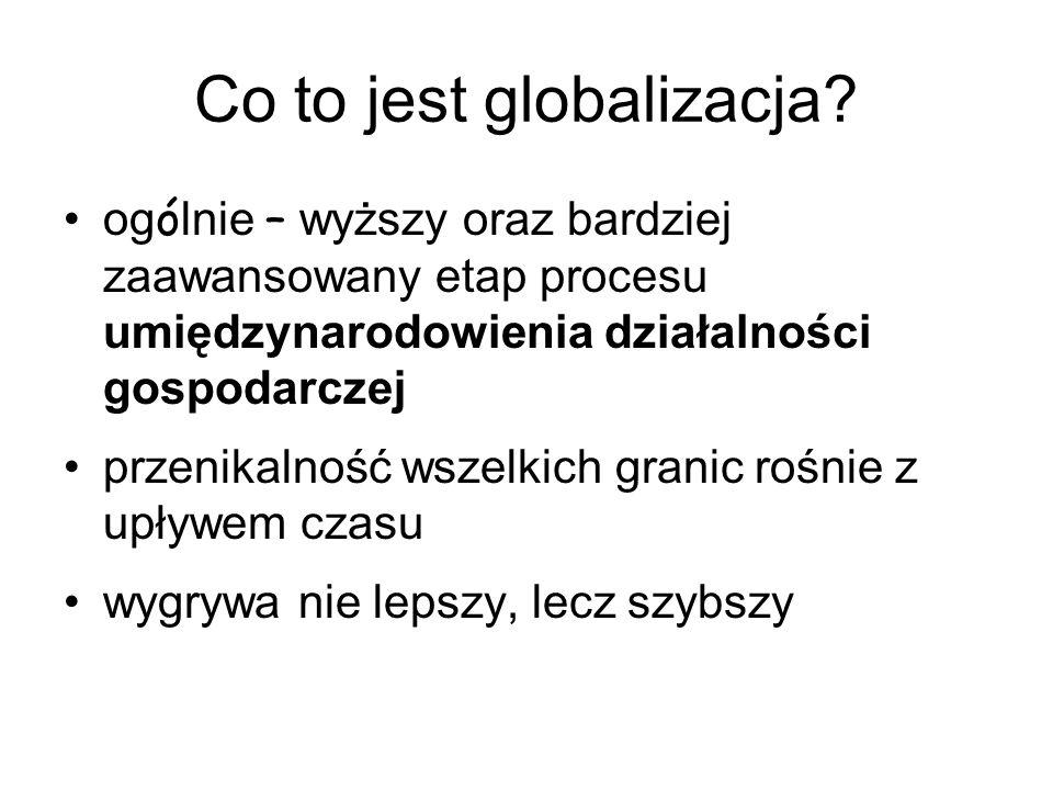 Co to jest globalizacja