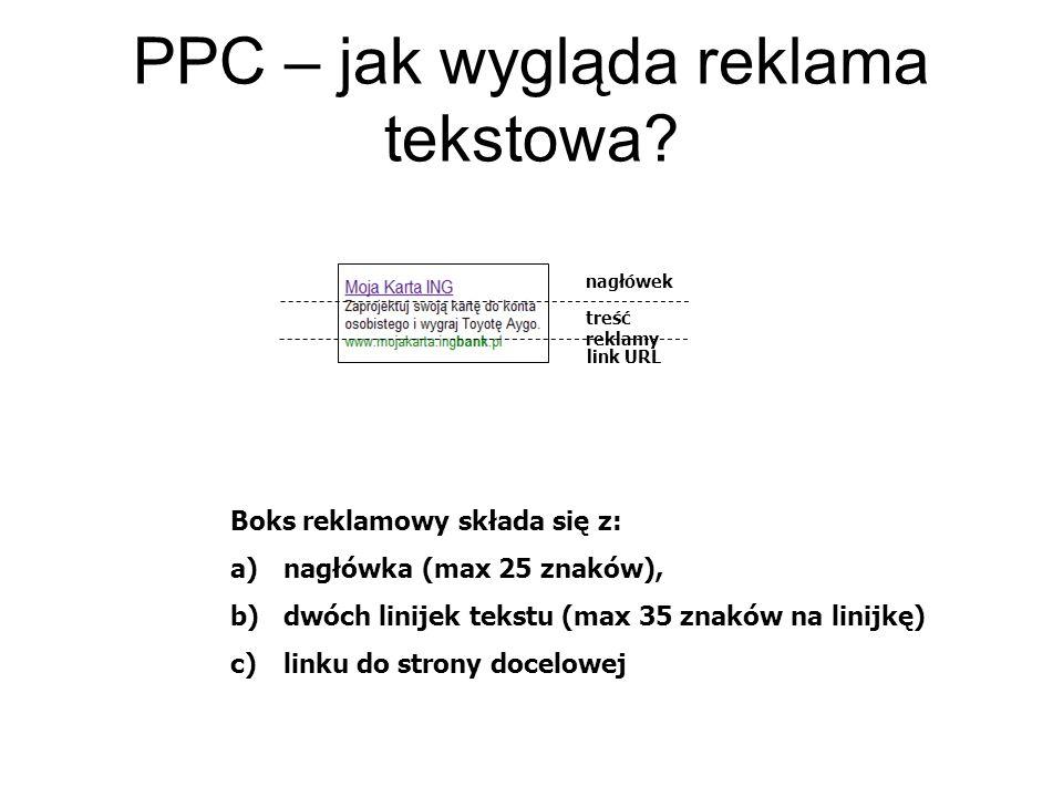 PPC – jak wygląda reklama tekstowa