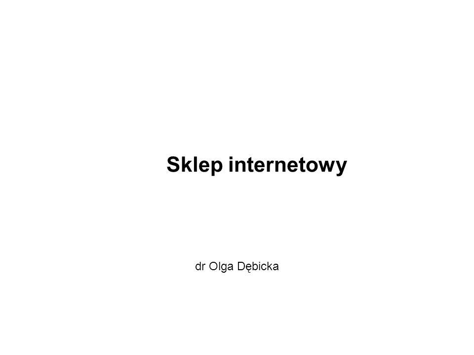 Sklep internetowy dr Olga Dębicka