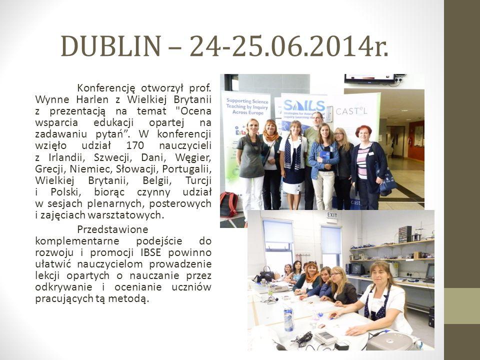 DUBLIN – 24-25.06.2014r.