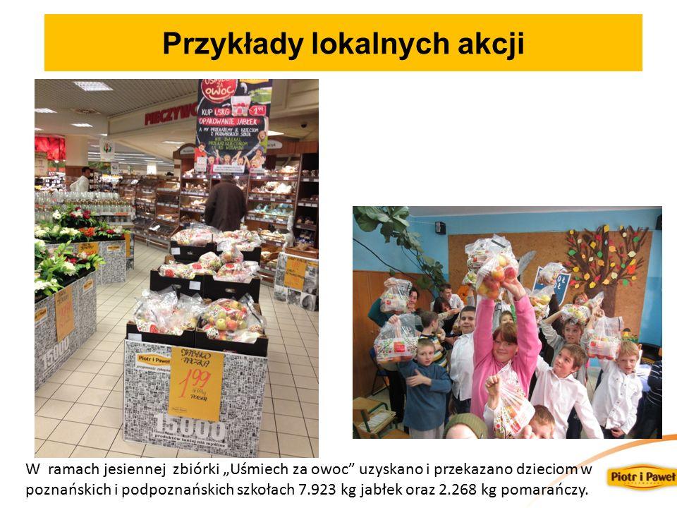 Przykłady lokalnych akcji