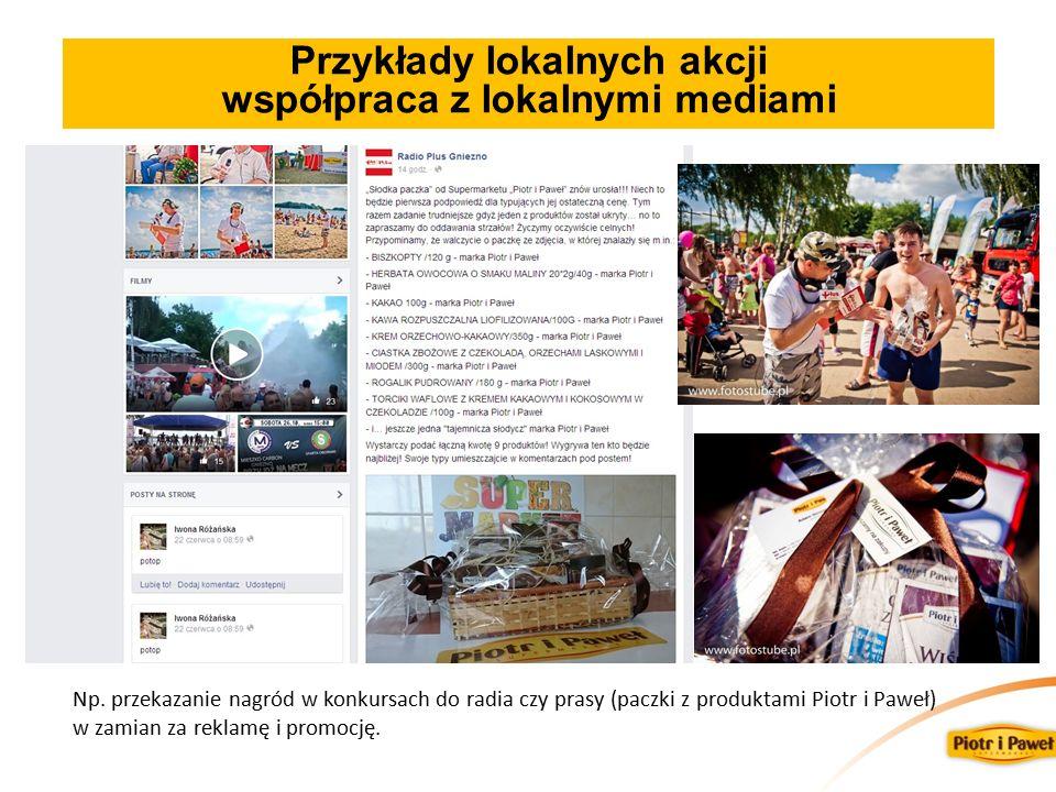 Przykłady lokalnych akcji współpraca z lokalnymi mediami