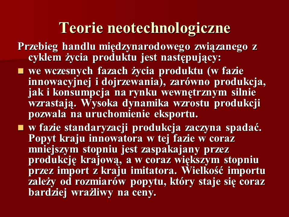 Teorie neotechnologiczne