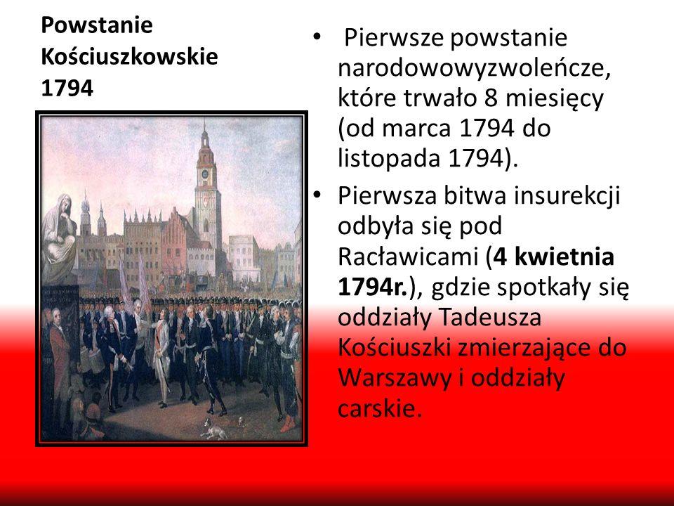 Powstanie Kościuszkowskie 1794