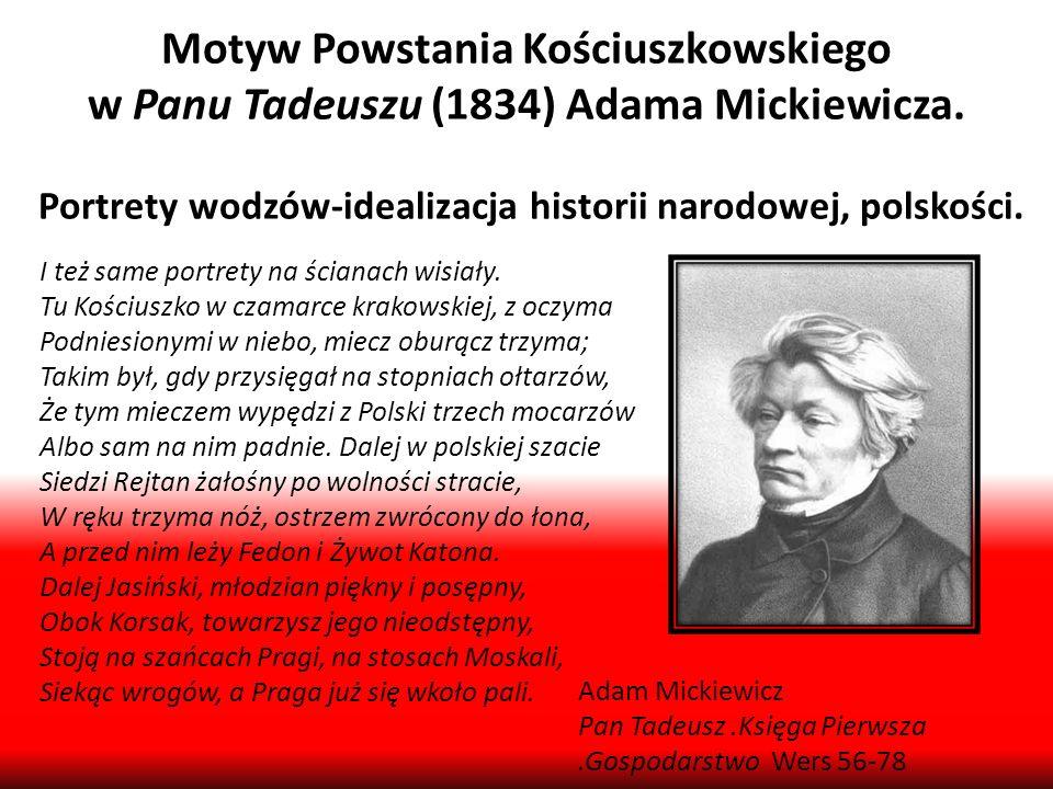 Motyw Powstania Kościuszkowskiego
