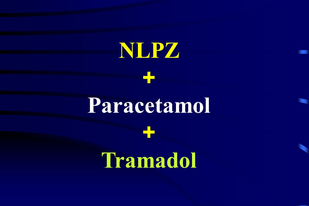 NLPZ + Paracetamol Tramadol
