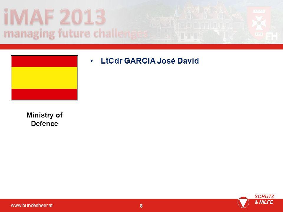LtCdr GARCIA José David
