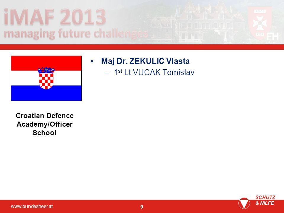 Croatian Defence Academy/Officer School
