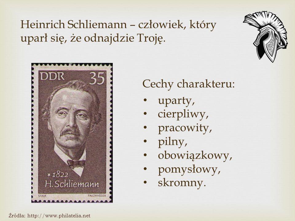 Heinrich Schliemann – człowiek, który uparł się, że odnajdzie Troję.