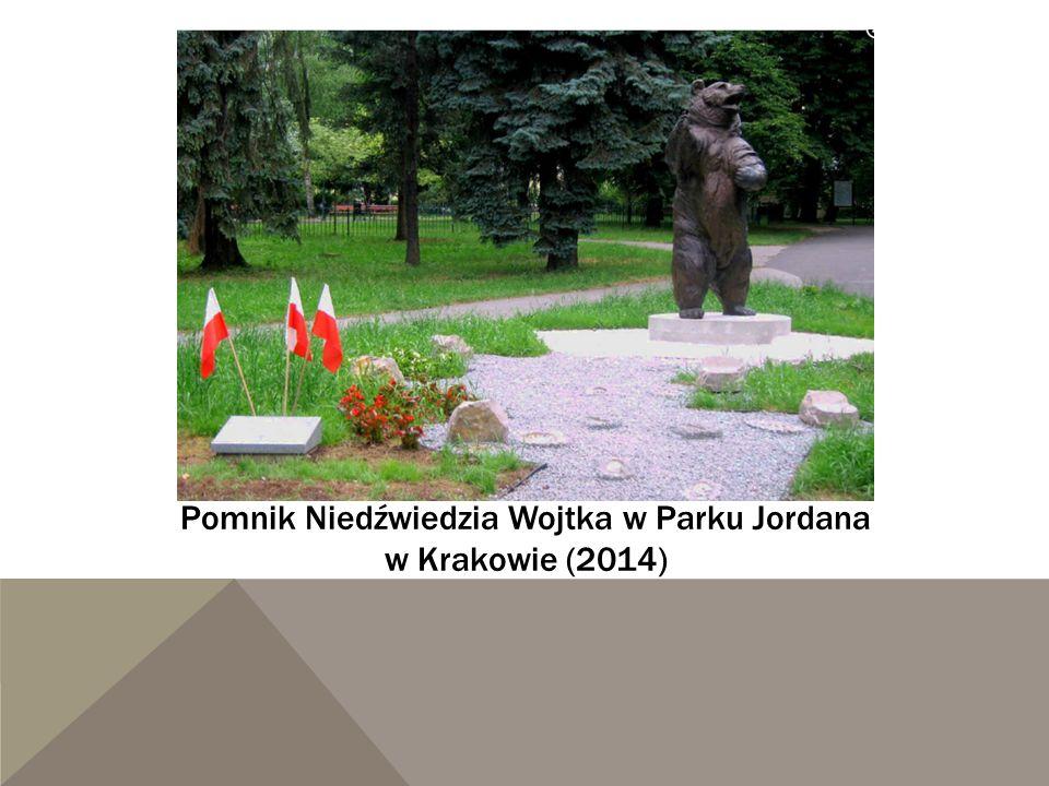 Pomnik Niedźwiedzia Wojtka w Parku Jordana w Krakowie (2014)