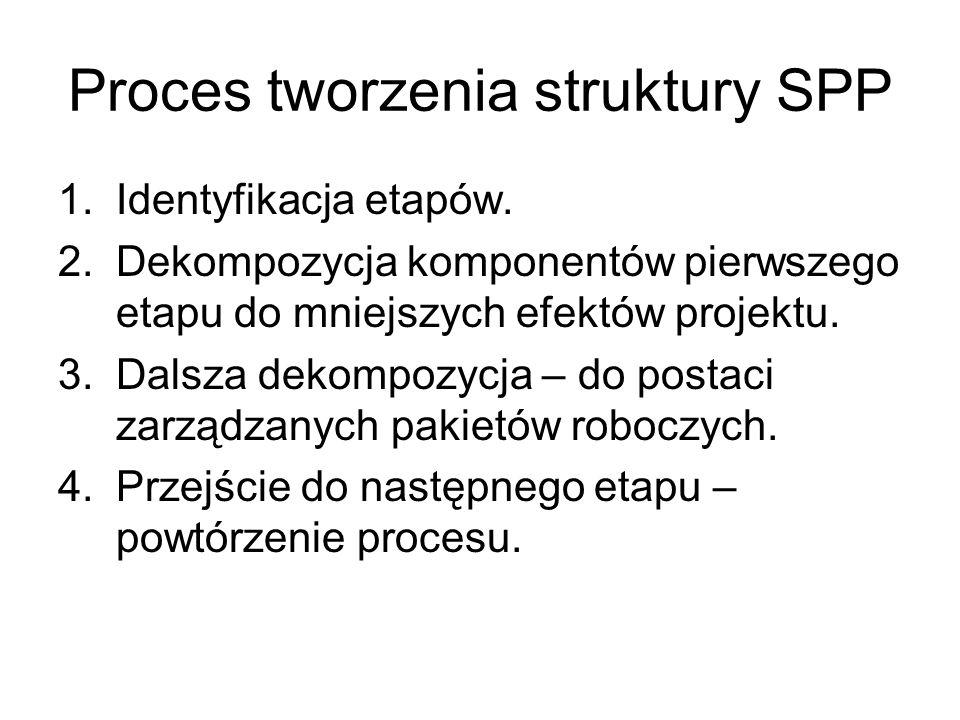 Proces tworzenia struktury SPP