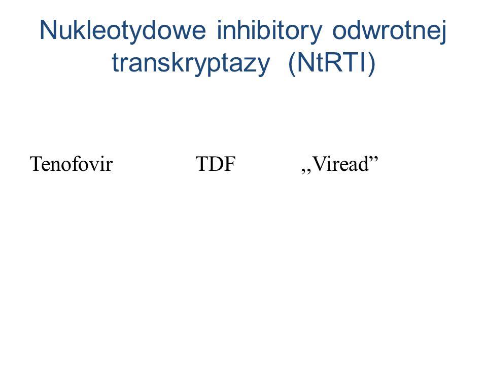 Nukleotydowe inhibitory odwrotnej transkryptazy (NtRTI)