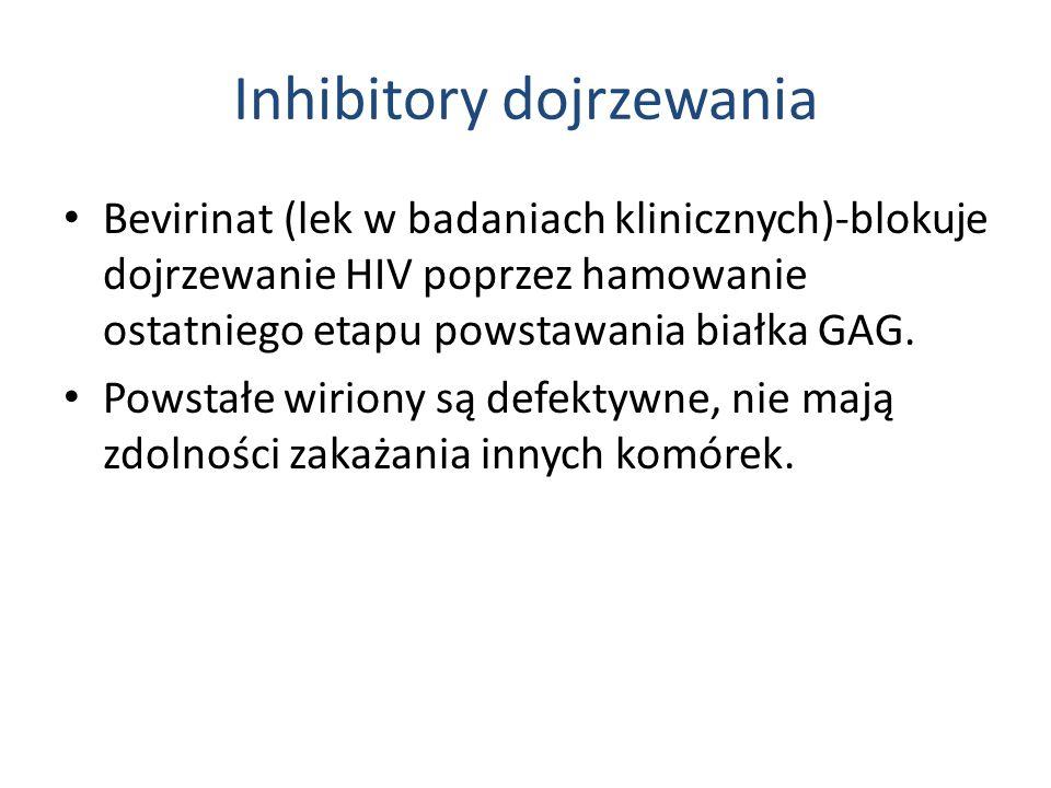Inhibitory dojrzewania