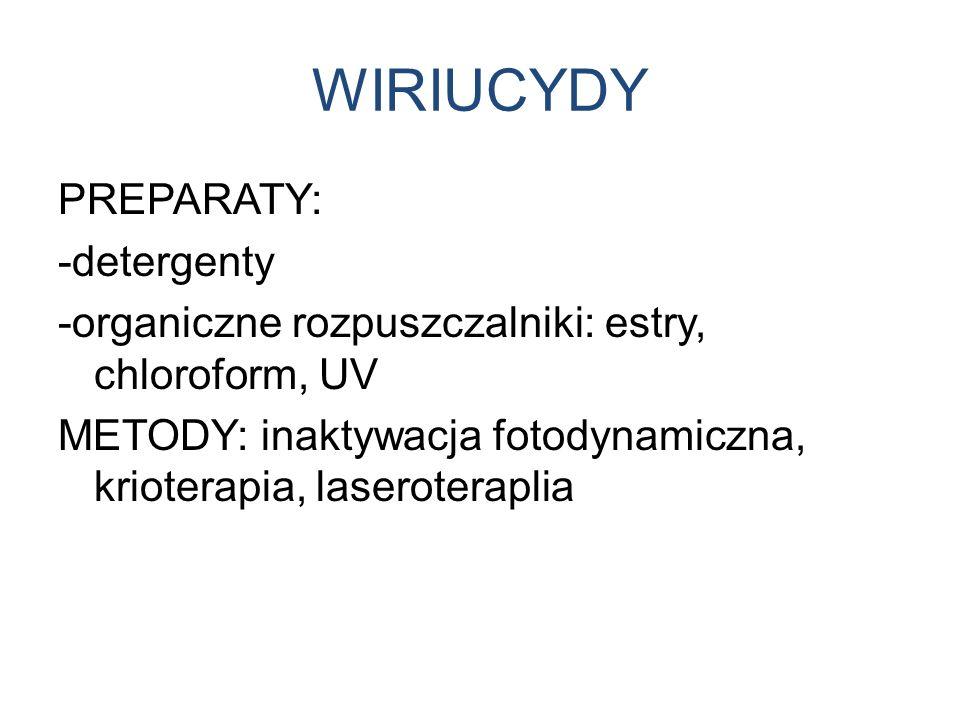 WIRIUCYDY PREPARATY: -detergenty