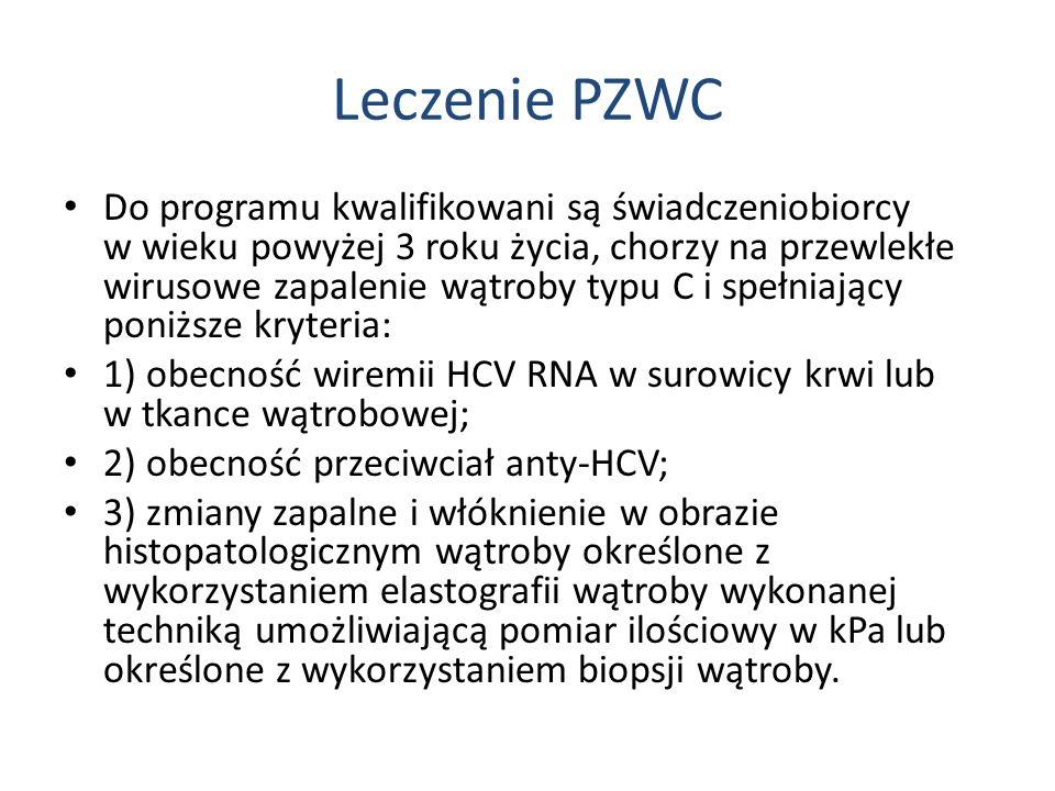 Leczenie PZWC