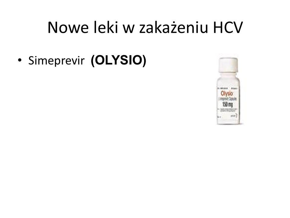Nowe leki w zakażeniu HCV
