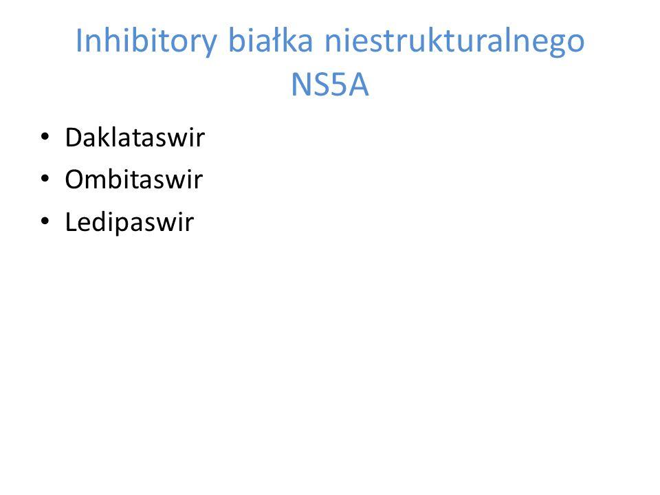Inhibitory białka niestrukturalnego NS5A