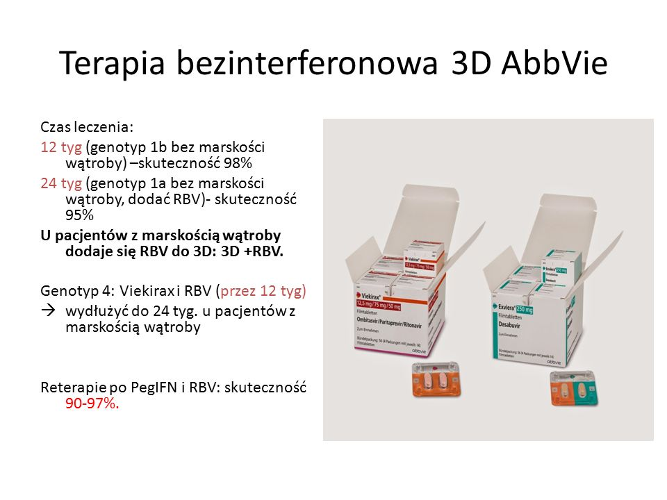 Terapia bezinterferonowa 3D AbbVie