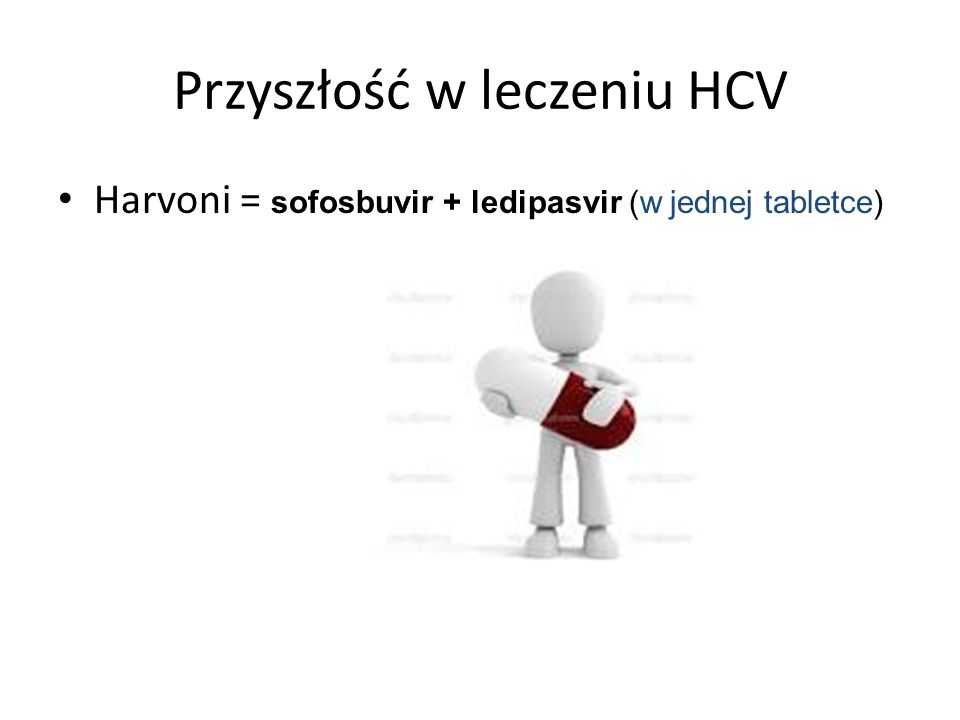 Przyszłość w leczeniu HCV