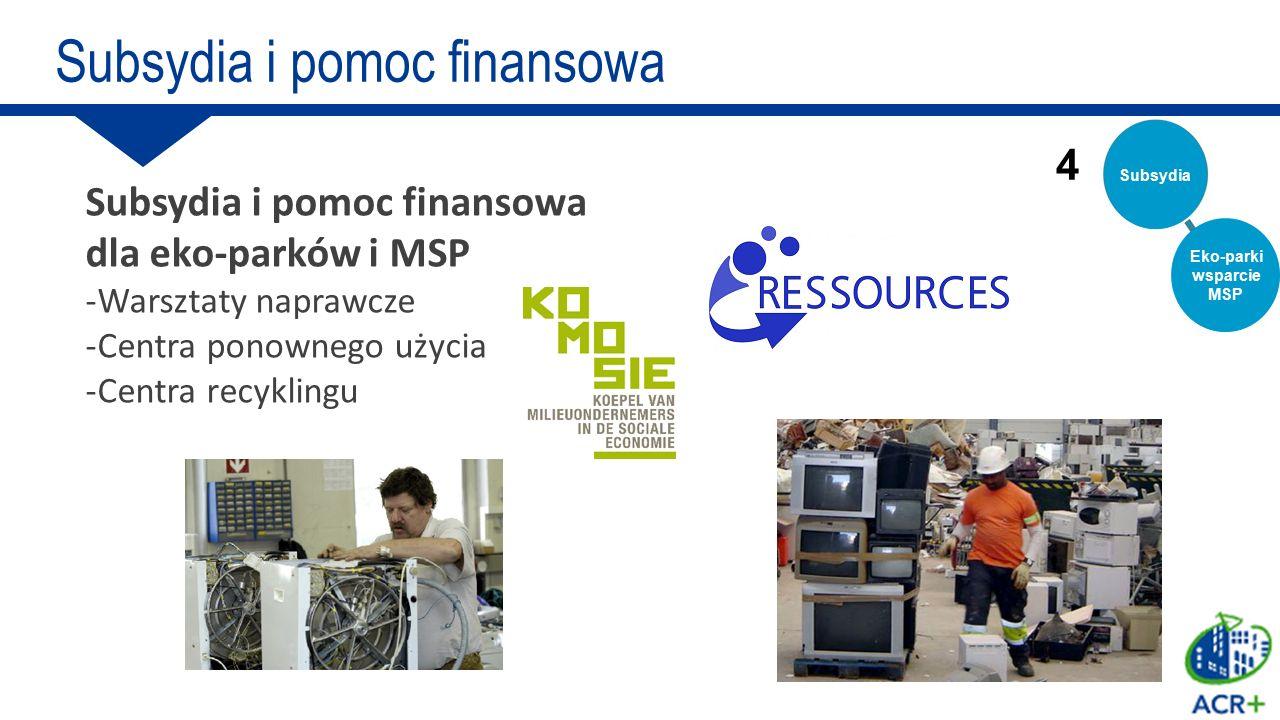 Eko-parki wsparcie MSP