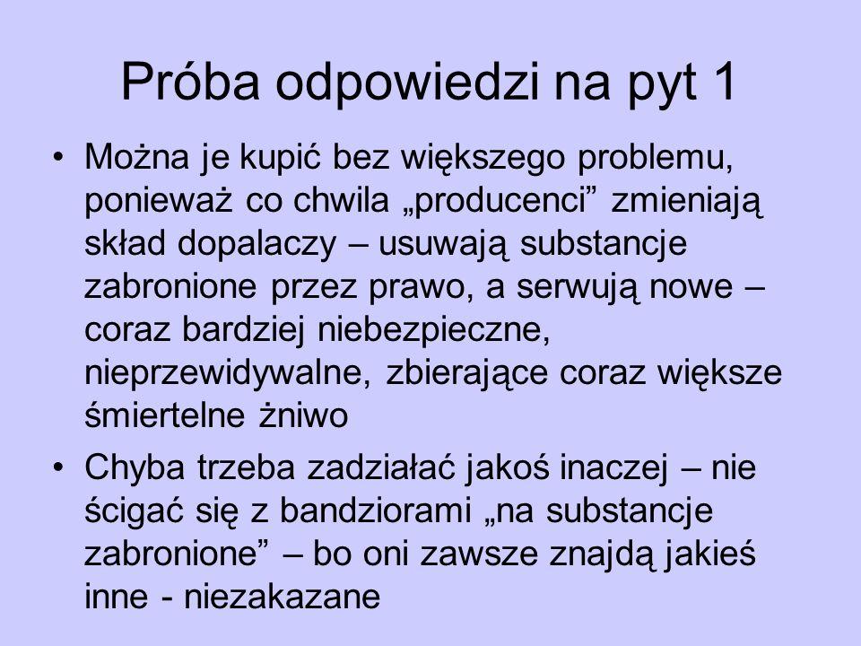 Próba odpowiedzi na pyt 1