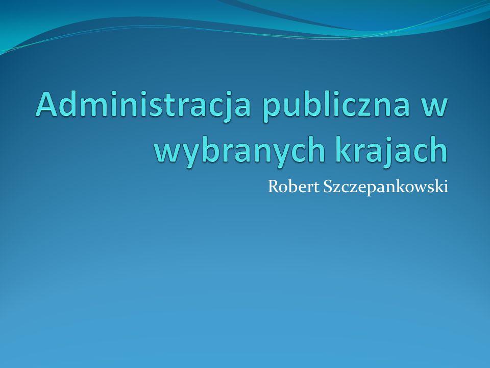 Administracja publiczna w wybranych krajach