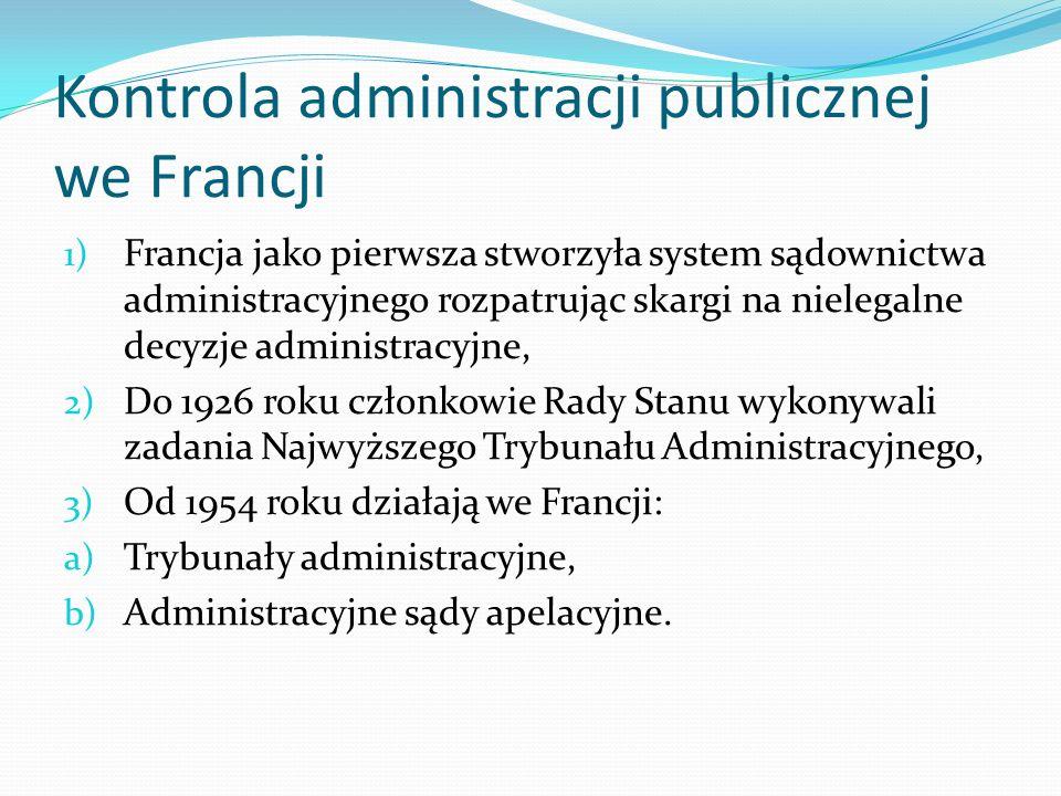 Kontrola administracji publicznej we Francji