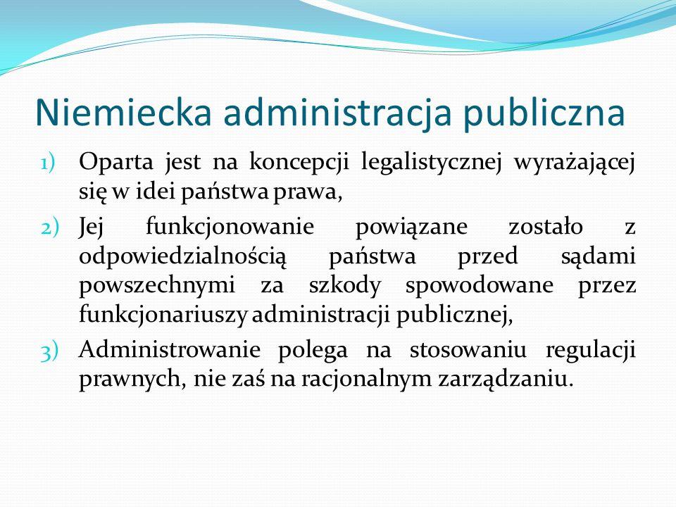 Niemiecka administracja publiczna